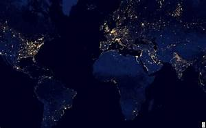 NASA Map Night Lights (page 2) - Pics about space
