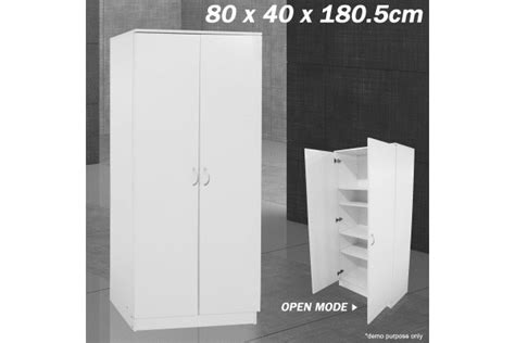 White Freestanding Wardrobe by Smith Freestanding Wardrobe Storage Unit White