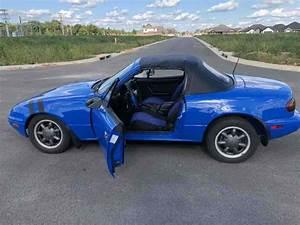 1990 Mazda Miata Convertible Blue Rwd Manual