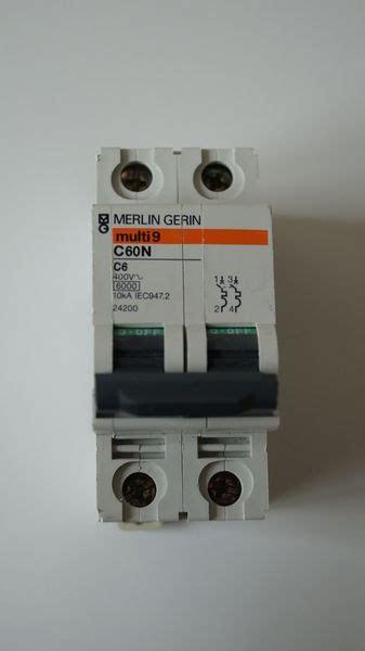 disjoncteur merlin gerin disjoncteur c60n merlin gerin pdf