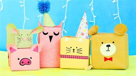 6 Diy Animal T Wrap Ideas Youtube
