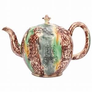 A Rare Unmarked William Greatbatch Tortoise Glaze