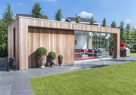 binnenhuisarchitectuur prijzen wood arts moderne houten bijgebouwen poolhouses