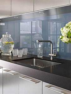Kuchenruckwand aus glas der moderne fliesenspiegel sieht for Fliesenspiegel plexiglas