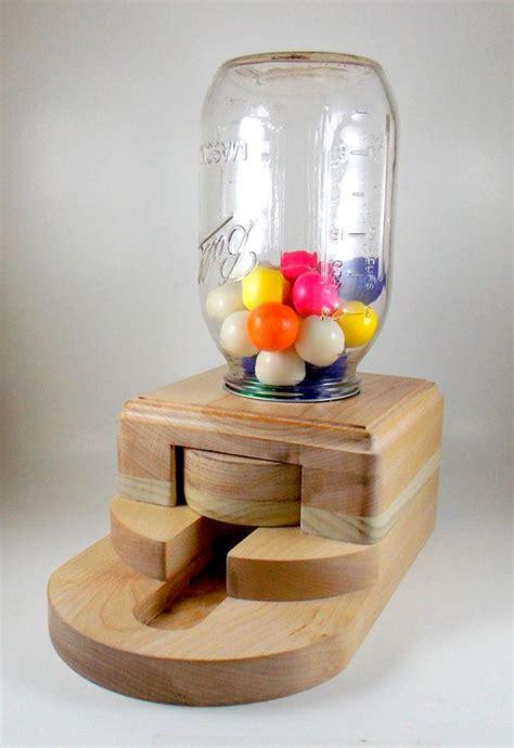 wooden candy dispenser easy craft ideas