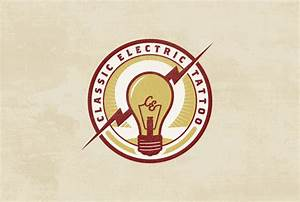 Classic Electric Tattoo Logo | Tattooshunt.com