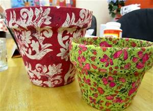 14 Ideas for Flower Pots Decoration with Fabric DIY and