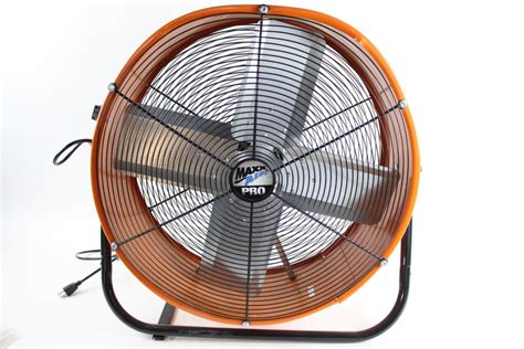 Max Air Pro Industrial Fan Property Room