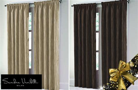 textured sandra venditti curtains 47 off on tuango ca