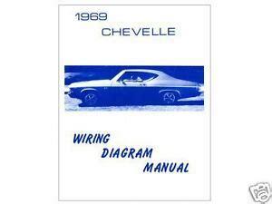Chevelle Camino Wiring Diagram Ebay