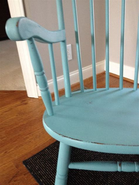 rocking chair painted  provence annie sloan chalk paint