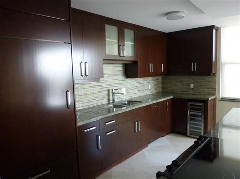 Refacing Kitchen Cabinet Doors Ideas - modern kitchen cabinets from kitchen cabinets cabinet refacing by visions in miami fl 33179