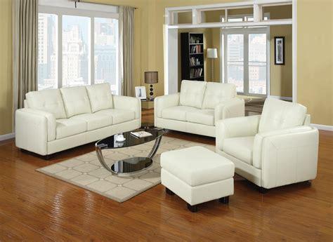 Cream Leather Sofa Set Trend Cream Leather Sofa 70 In