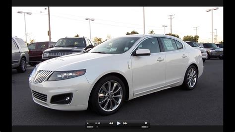 how make cars 2012 lincoln mks head up display 2011 lincoln mks ecoboost start up exhaust and in depth tour youtube