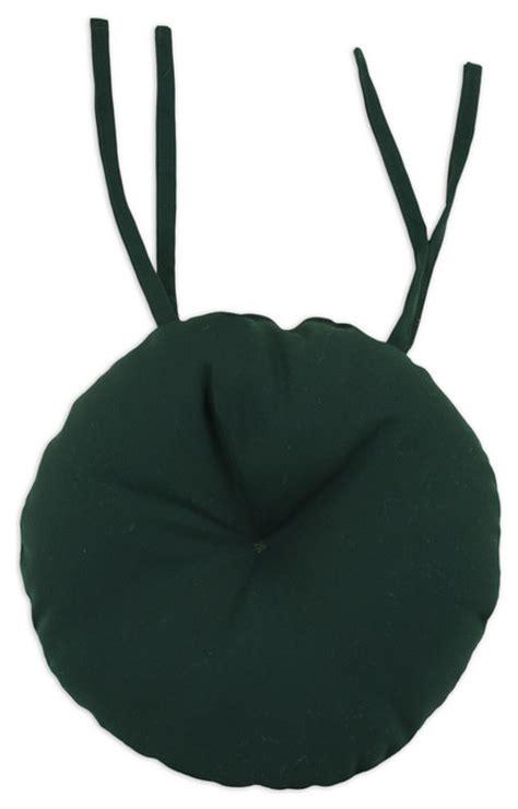 green 17 inch indoor outdoor bistro chair cushion