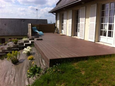 terrasse bois composite construction bois carport qualit espace rennes ille et vilaine