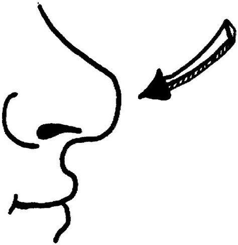Coloring Nose coloring page nose coloring me