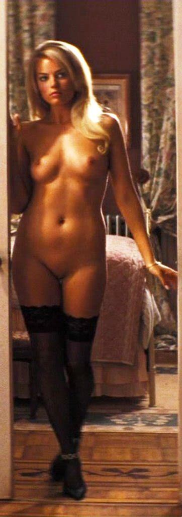Naked Margot Robbie In The Wolf Of Wall Street