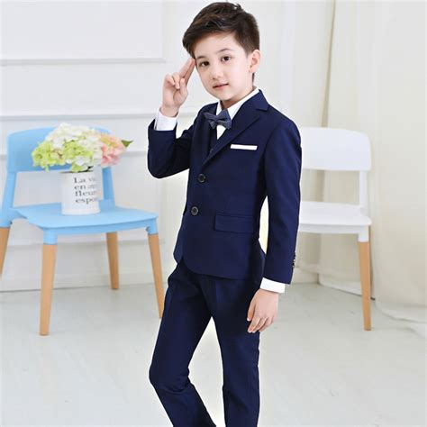 2016 Boys Suits For Weddings Kids Prom Suits Wedding Clothes for Boys Children Clothing Sets Boy ...