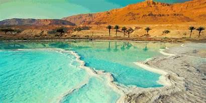 Places Sea Dead Travel Israel Coast Natural