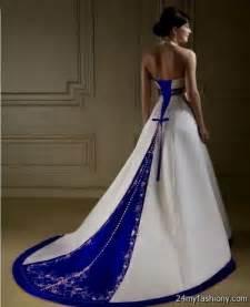royal blue dress for wedding white and royal blue wedding dresses 2017 2018 b2b fashion