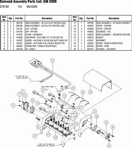 Ramsey Winch Qm 8000 Parts