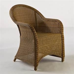 Honey Catalina All-Weather Wicker Tub Chair World Market