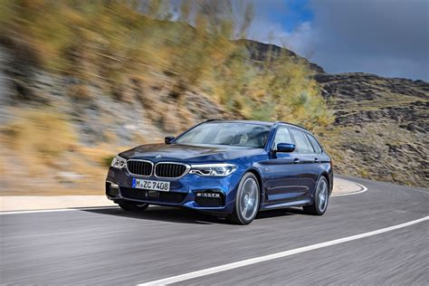 2017 Bmw 5 Series Touring (g31) Launch Films Are About