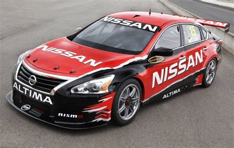 nissan altima v8 supercar to debut at sydney telstra 500 performancedrive