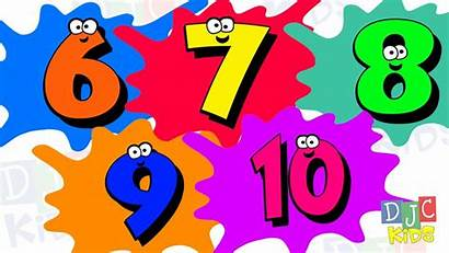 Numbers Teaching Count Fun Counting Learning Preschool
