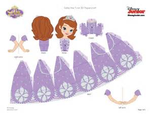 http static spoonful default files disney sofia the 3d papercraft craft