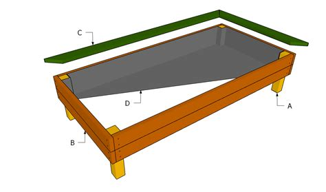 raised garden bed plans free free garden plans how to