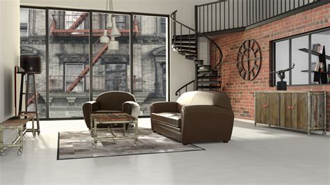 chambre style vintage chambre ado style industriel