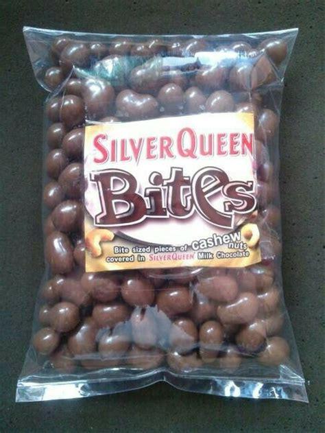 jual coklat silverqueen bites mede almond kiloan setengah