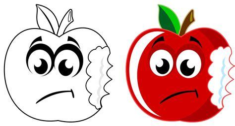 Sad Apple Free Stock Photo - Public Domain Pictures
