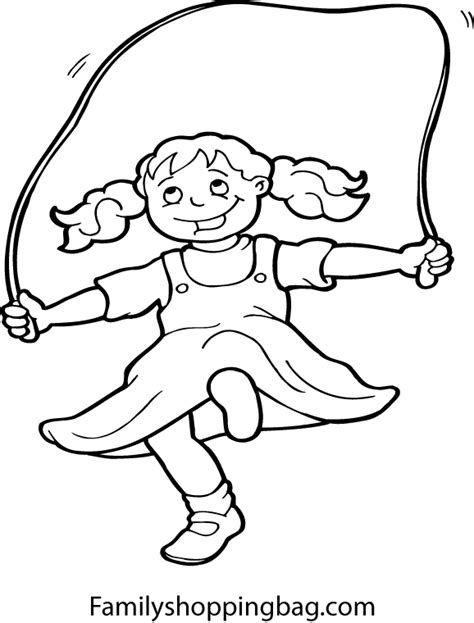 Coloring Ropes by Jump Rope Coloring Pages Disney Coloring Pages