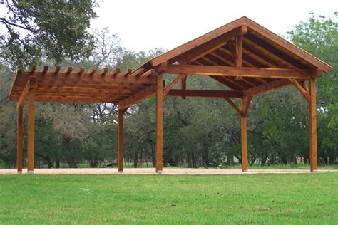 Pavilion Plans Backyard by Outdoor Pavilion On