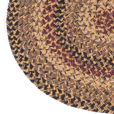 irvins tinware homestead  ft oval braided rug