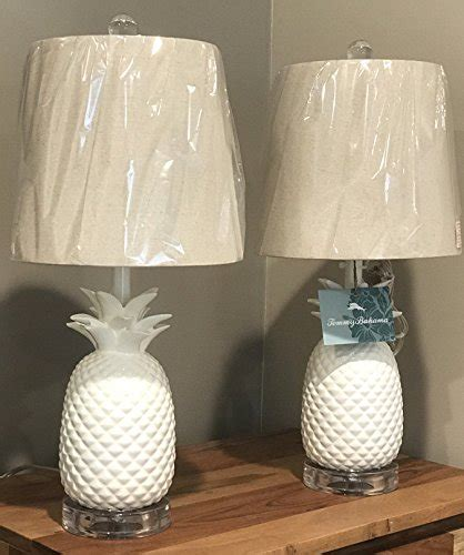 tommy bahama white pineapple l pair of two 2 tommy bahama 20 quot pineapple bright white