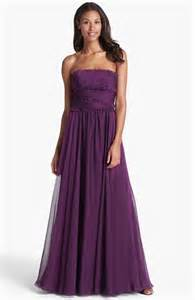 nordstrom bridesmaids ml lhuillier bridesmaids strapless chiffon gown nordstrom exclusive nordstrom