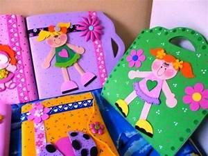 Bellas Carpetas Decoradas En Foami Bs 200 000,00 en Mercado Libre