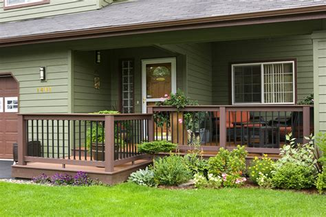 Front Porch Deck by Extend Your Front Porch Entryway Deck Makes Statement