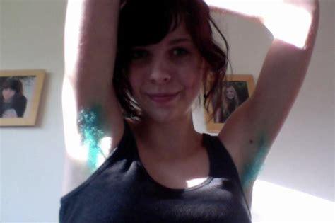 Iff I Dyed My Armpit Hair Blue Imgur