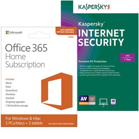 Office 365 Best Buy by Microsoft Office 365 Home Kaspersky Security