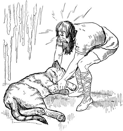 thor  giant land clipart