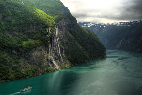 Norway, Landscape, River, Waterfall Wallpapers HD ...