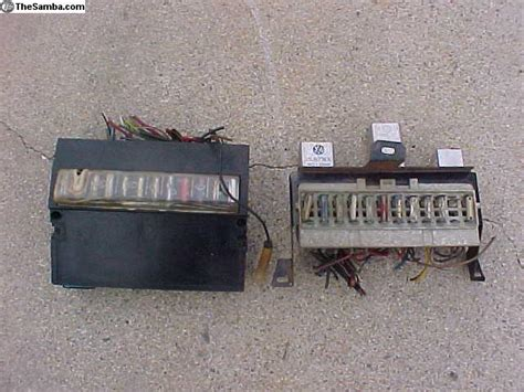 1973 Fuse Box by Thesamba Vw Classifieds 1973 Vw Fuse Boxes
