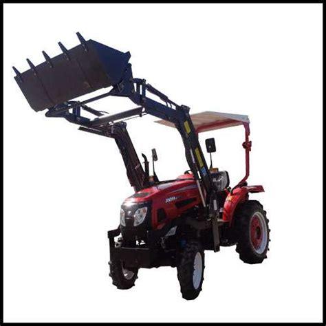 traktor mit frontlader und allrad kleintraktor eurotrack 254e schlepper traktor mit