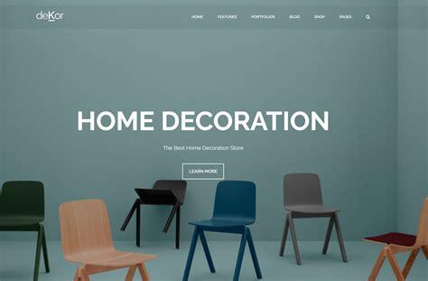 24 Best Responsive Interior Design Website Templates 2019