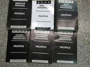2005 Chrysler Pacifica Service Repair Shop Manual Set W